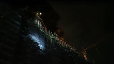 Primarul Sectorului I a dispus să fie verificat blocul unde s-a produs incendiul