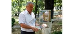 """Primarul Toma, donatie de carti la """"biblioteca"""" din Parcul Crang"""