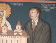 Primarul care a fost pictat printre sfinti