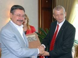 Primarul din Ankara, in vizita la Bucuresti