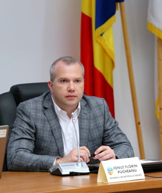 Primarul din Galati isi doneaza salariul pe martie, pentru cumpararea de materiale sanitare