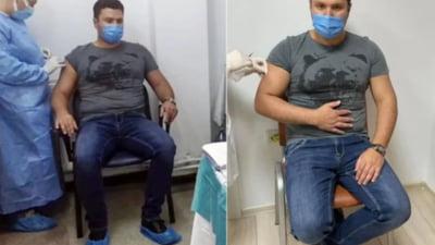 Primarul din Rădăuţi a simulat vaccinarea anti-Covid-19 pentru o şedinţă foto. Ce l-a dat de gol