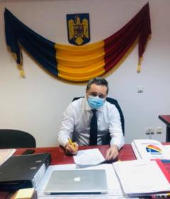 "Primarul municipiului Slobozia a fost infectat cu SARS-COV-2. ""Probabil ca ce a fost mai rau a trecut"""