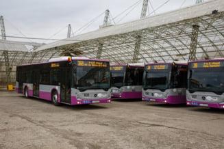 Primele 30 de autobuze Mercedes-Benz cu wi-fi si prize USB, puse in circulatie la Cluj-Napoca