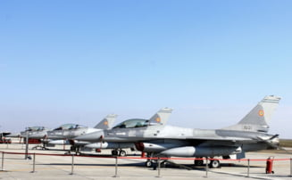 Primele avioane F-16 au intrat in serviciul Fortelor Aeriene Romane (Galerie foto)