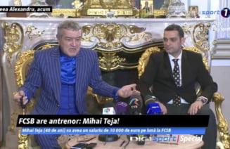 Primele declaratii ale lui Mihai Teja, noul antrenor de la FCSB