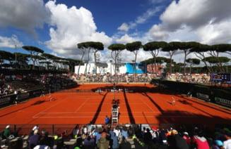 Primele doua romance debuteaza azi la turneul de la Roma