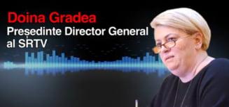 Primele explicatii ale Doinei Gradea despre inregistrarile in care jigneste jurnalistii TVR: Unele discutii le-am purtat singura in birou