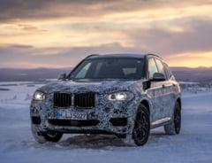 Primele fotografii spion cu noul BMW X3