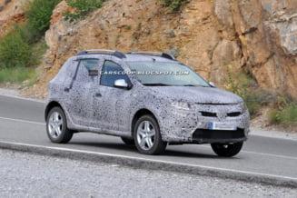 Primele imagini cu Dacia Sandero Stepway 2013