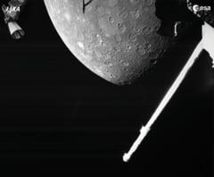 Primele imagini cu Mercur, cea mai ascunsă planetă a Sistemului Solar, au fost făcute publice
