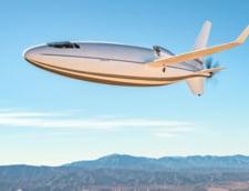 """Primele imagini cu avionul """"glont"""" Celera 500L. Misterioasa aeronava a efectuat peste 30 de zboruri test"""