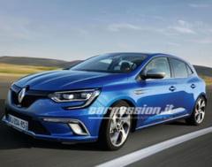 Primele imagini cu noul Renault Megane: Iata cum arata
