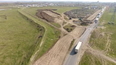 Primele imagini cu noul drum spre vama Giurgiu-Ruse. Proiect-pilot cu o premiera tehnologica absoluta in Romania VIDEO