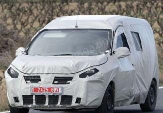 Primele imagini cu noul model Dacia, Dokker