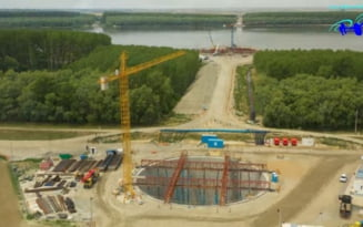 Primele intarzieri in executia podului de 500 de milioane de euro peste Dunare. Este nevoie de o hotarare de Guvern pentru exproprieri suplimentare