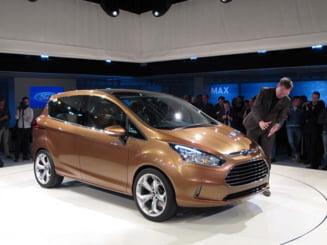 Primele masini Ford B-Max produse la Craiova au plecat la export