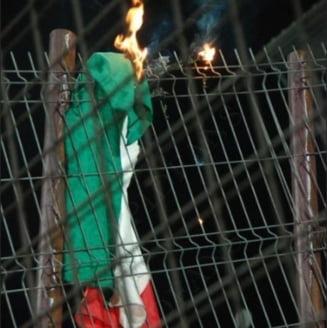 Primele masuri luate dupa ce drapelul Ungariei a fost incendiat la Cluj