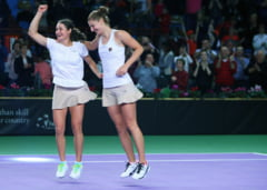 Primele reactii din partea Irinei Begu si Monicai Niculescu, dupa victoria istorica din Fed Cup in fata Cehiei