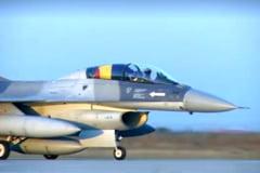Primele sase avioane F-16 au ajuns in Romania