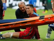 Primele vesti despre accidentarea lui Ronaldo - cat ar putea lipsi de pe teren