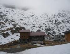 Primii fulgi de nea la Balea Lac si la Sibiu