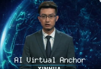 Primii prezentatori virtuali din lume si-au facut debutul la TV (Video)