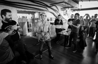 Primire deosebita pentru Mani Gyenes la revenirea in Bucuresti