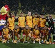 Primul 11 al Romaniei in meciul cu Serbia