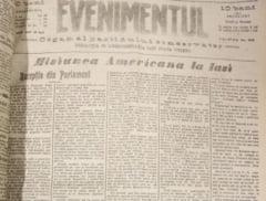 """Primul Razboi Mondial reflectat in presa vremii. Ziarul """"Evenimentul"""" acum 100 de ani - 22 iunie 1917 GALERIE FOTO"""