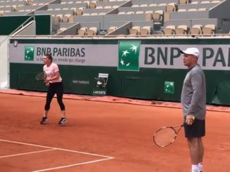Primul antrenament pentru Simona Halep la Paris: Cum se pregateste pentru Roland Garros