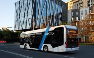 Primul autobuz electric romanesc va fi testat la Cluj timp de doua saptamani
