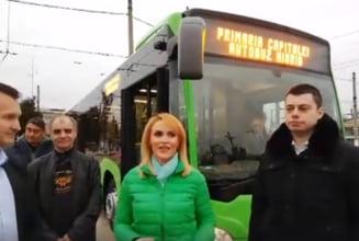 Primul autobuz hibrid, livrat in Capitala (Video)