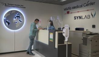 Primul centru de testare COVID-19 dintr-un aeroport se deschide pe 1 aprilie la Bucuresti. Ce preturi sunt practicate
