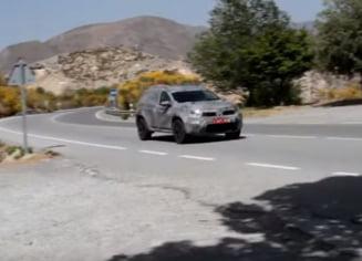 Primul clip spion cu noua generatie a Dacia Duster: Cu ce noutati vine (Video)