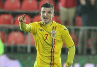 Primul club de top din Europa care il vrea pe olteanul Mihaila, dupa cele 4 goluri marcate pentru Romania U21