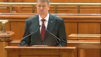 Primul discurs al presedintelui Klaus Iohannis: Cum vede Romania de peste cinci ani