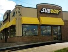 Primul fast-food Subway in Bucuresti