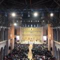 Primul hram al Catedralei Nationale, serbat azi, de Sfantul Apostol Andrei. Slujba va fi oficiata de Patriarhul Ierusalimului si PF Daniel