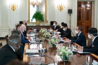 """Primul lider strain primit de Joe Biden la Casa Alba: """"Suntem hotarati sa actionam impreuna pentru a depasi provocarile ridicate de China"""""""