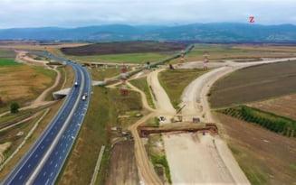 Primul lot din autostrada Comarnic - Brasov, scos la licitatie in acest an. Are 5,2 km si este varianta de ocolire a unui oras