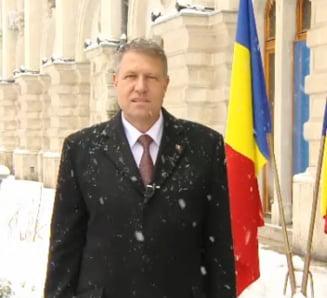 Primul mesaj de Anul Nou al presedintelui Iohannis: despre cum vor deveni sperantele realitate (Video)