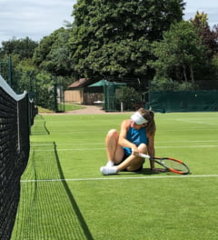 Primul mesaj transmis de Simona Halep dupa ce a ajuns la Wimbledon