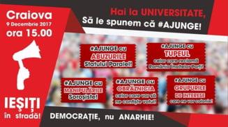 """Primul miting PSD impotriva """"statului paralel"""" e promovat pe Facebook: #Ajunge cu tupeul, abuzurile si obraznicia!"""
