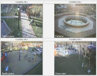 Primul parc supravegheat video in intregime, dat in folosinta in Capitala