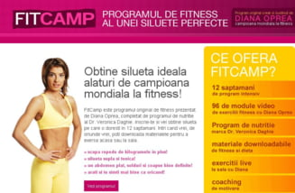 Primul program de fitness exclusiv online din Romania