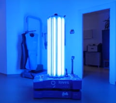 Primul robot autonom de sterilizare produs in Romania, donat Spitalului Universitar din Capitala