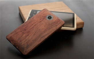 Primul smartphone fabricat din bambus - Vezi cum arata (Galerie foto)