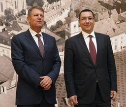 Primul sondaj in care Iohannis e dat castigator in fata lui Ponta - BCS