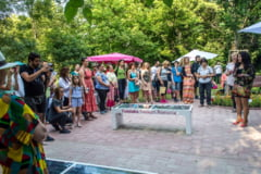 Primul spatiu verde din Romania cu banci solare si wifi gratuit